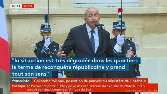 Le Ministre de l'Intérieur, Gérard Collomb, attendu à La Seyne sur Mer ce Vendredi 05/10/2018,.. ne viendra pas