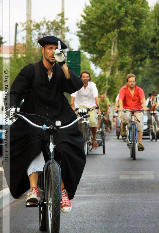 Gravage de Vélos au Parc de la Navale à La Seyne