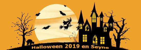 Halloween 2019 en Seyne, le Jeudi 31 Octobre