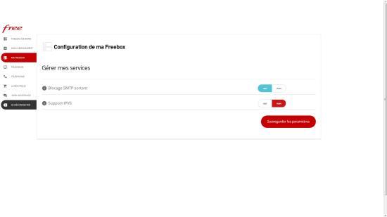 Comment activer ou désactiver l'IPV6 sur la Freebox, pour gagner du Débit vers Fessebook et Netflix