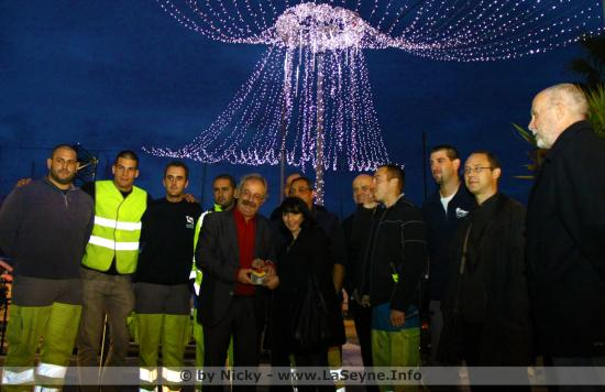 Déclenchement des Illuminations de Noël 2017 à La Seyne sur Mer ...