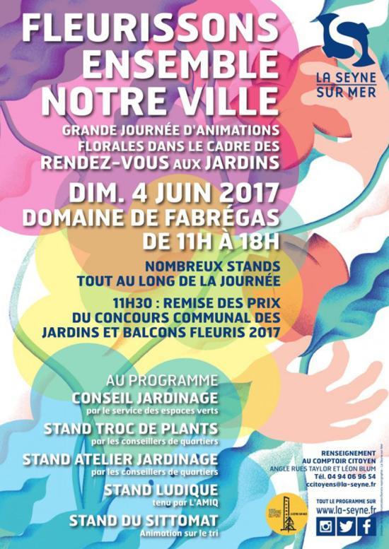 #LaSeyne Inauguration du Jardin partagé - Samedi 03 juin 2017 à 11 heures