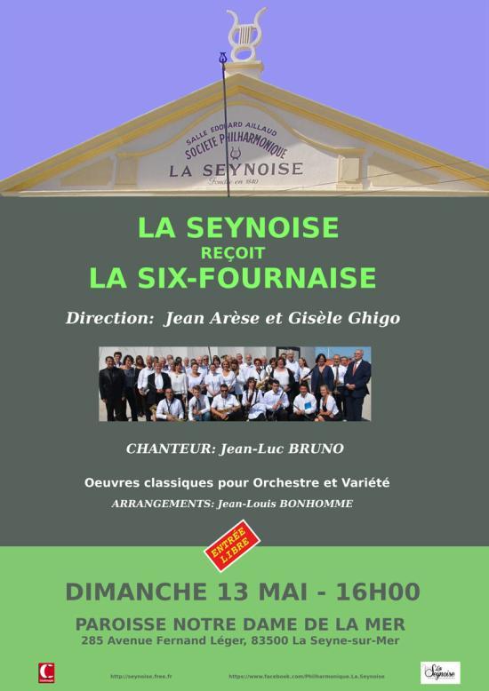 Concert: Philharmonique La Seynoise & La Six-Fournaise