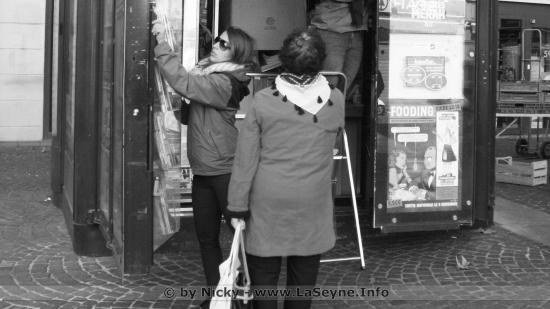 La Seyne Centre-Ville : Fermeture du Kiosque à Journaux Place Laïk