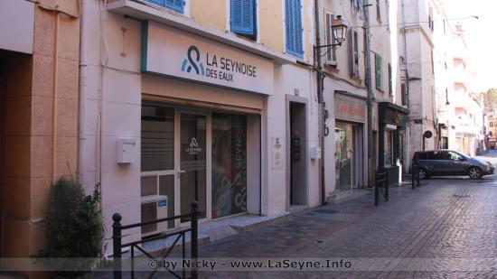 La Seynoise des Eaux - Accueil au 18, Rue Baptistin Paul - 83500 La Seyne sur Mer
