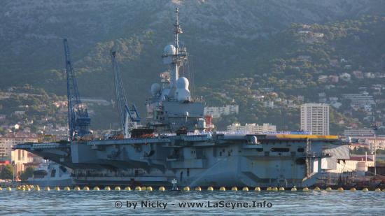 Essai des Sirènes d'Alerte PPI sur la Base navale de Toulon Jeudi 21 Décembre 2017