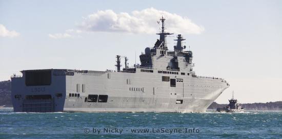 #Covid19: Le PHA Mistral, parti le 26/02/2020 de Toulon, vient charger du Fret pour Mayotte