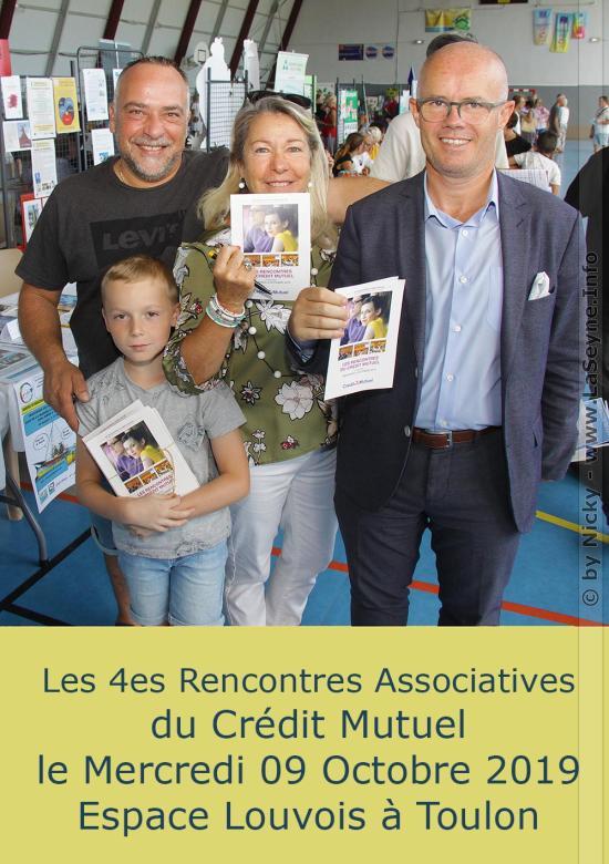 Les quatrièmes Rencontres Associatives du Crédit Mutuel, le 09/10/2019 à Toulon -