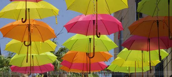 Les Ombrelles de l'Eté 2019: Samedi 29 Juin au Centre-Ville