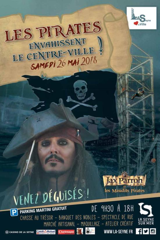 Jax Parroh et les Maudits Pirates à La Seyne sur Mer