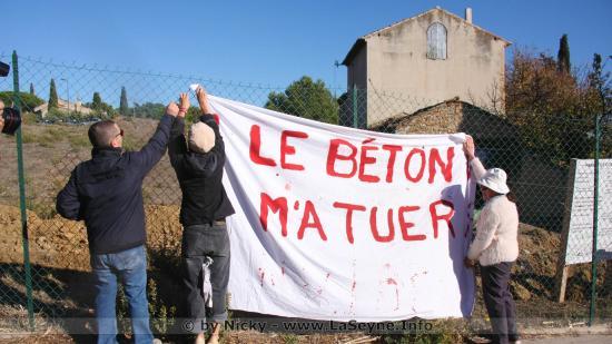 Le Béton m'a tuer - Ci gît le Jardin solidaire de Mauvéou MSV83