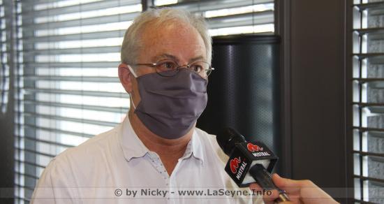 Marc Vuillemot: « Ce n'est pas parce qu'on distribue des Masques que l'on stoppe le Virus. Restons vigilants »