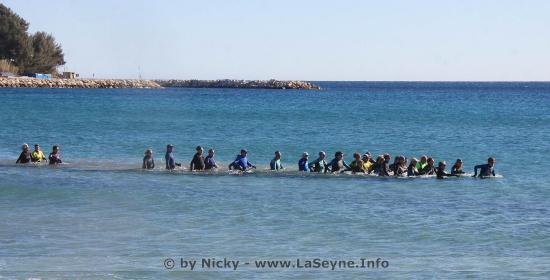 De la Marche aquatique avec les Randonneurs Seynois,.. pratiquement toute l'Année