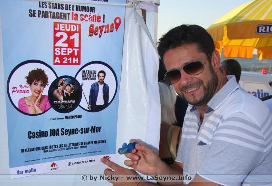 Marco Paolo et Le Gobie Bleu - Les Stars de l'Humour se partagent La Seyne !.. Le Jeudi 21 Septembre 2017 ... Une Soirée caritative