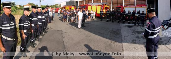Il y a 15 Ans ... Trois Pompiers seynois Mort au Feu