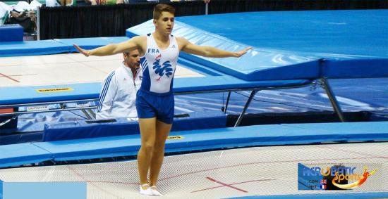 Le Seynois Mikaël Viviani avec les Français aux Championnats du Monde 2018