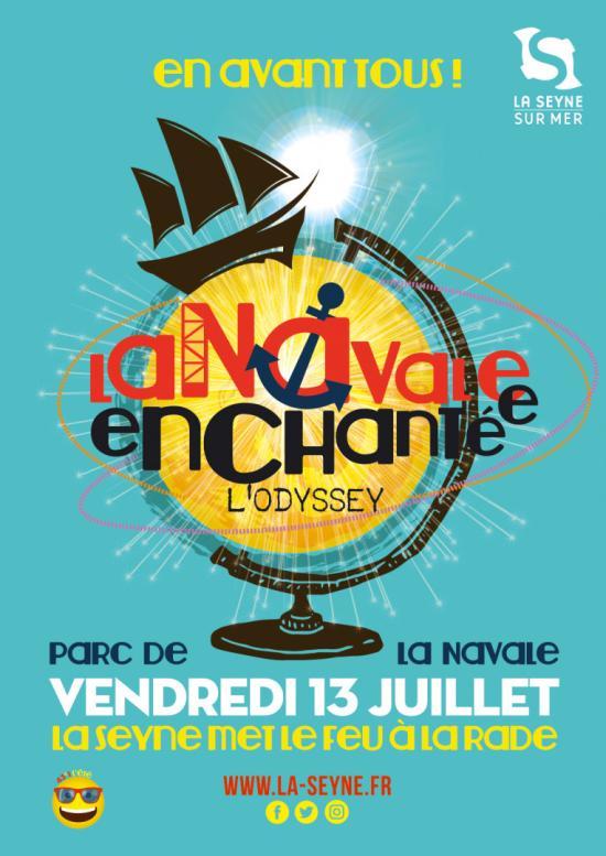 """La Navale enchantée 2018, le 13 Juillet: Bienvenue à Bord de """"l'Odyssey"""" !"""