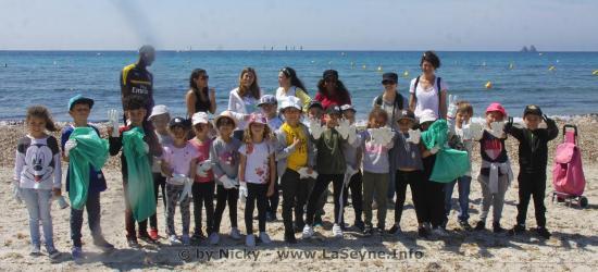 Ecole élémentaire Saint-Exupéry: Le Pavillon Bleu c'est aussi la Sensibilisation dès le plus jeune Age