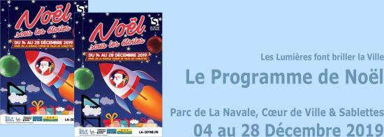 Noël 2019 à La Seyne sur Mer, du 14 au 28 Décembre