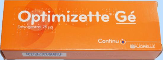 Rappel d'un Lot de Pilules contraceptives Optimizette Gé 75 Microgrammes