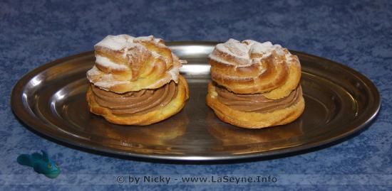 La Pâte à Choux à la Crème au Chocolat du Gobie Bleu