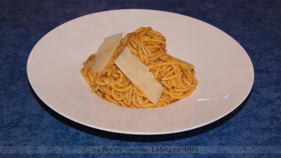Allez, une petite Persillade avec des Spaghetti, juste pour le Plaisir -