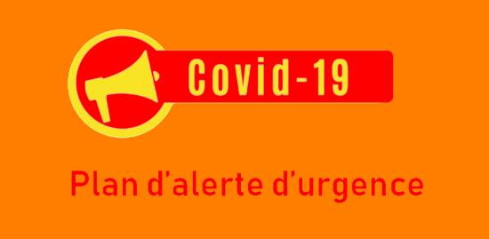 #Coronavirus #Covid19: Un Plan d'Alerte et d'Urgence communal, Inscrivez-vous !