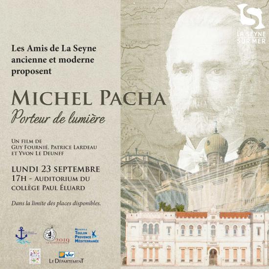 « Michel Pacha, Porteur de Lumière »: Projection supplémentaire, le Lundi 23 Septembre 2019 au colège Paul Eluard