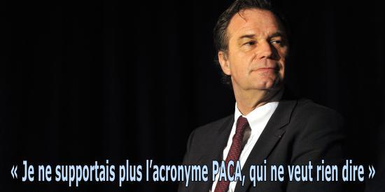 « Région Sud » La Provence-Alpes-Côte-d'Azur ne sera plus surnommée « PACA »