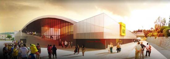 Réhabilitation de la Salle omnisports Maurice-Baquet à 1'325'000 €