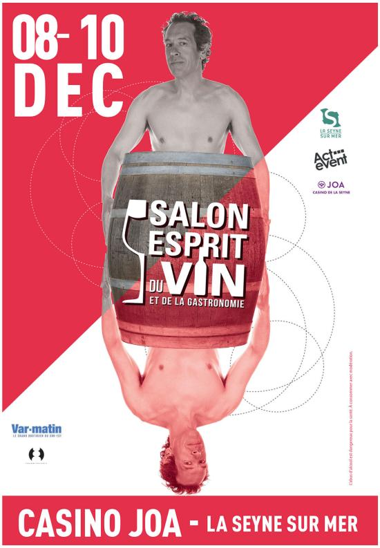 Salon Esprit du Vin et de la Gastronomie du 08 au 10 Décembre 2017 à La Seyne sur Mer
