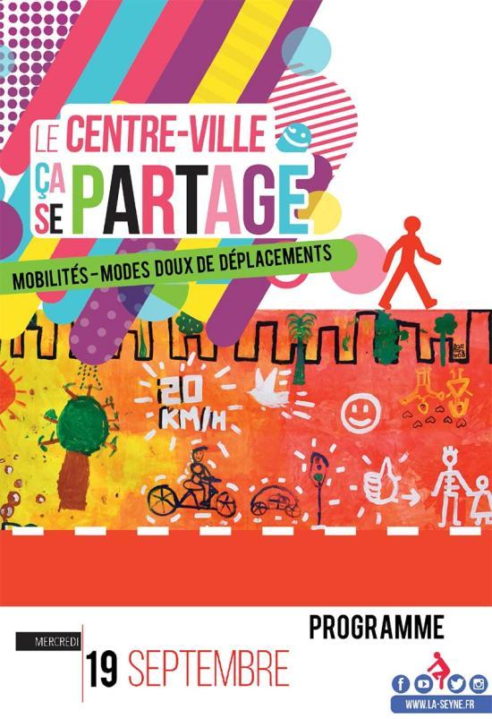 Semaine de la Mobilité: « Le Centre-Ville, ça se partage », le 19 Septembre de 2018 à La Seyne