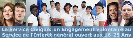 Info DDFiP: Candidatures - Recrutement de Volontaires du Service Civique