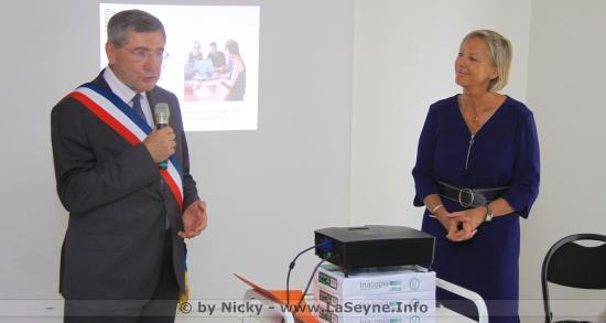 Mme Sophie CLUZEL, Secrétaire d'État chargée des Personnes handicapées, s'est déplacé dans le Département du Var ce 08/07/2019