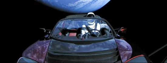 Live Vidéos - SpaceX: Le Cabriolet Tesla d'Elon Musk dans l'Espace