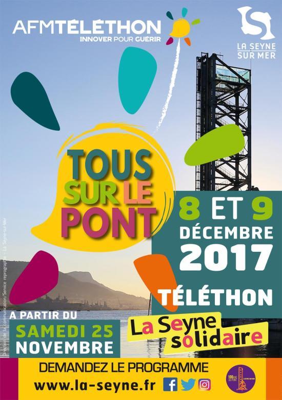 Téléthon 2017 à La Seyne sur Mer