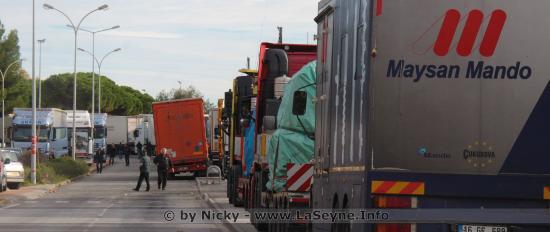 Réunion de la Ministre avec les syndicales Transport routier