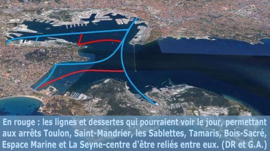 Une nouvelle Ligne de Bateaux-Bus pour La Seyne d'ici 2020 ?!?