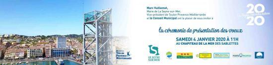 Les Vœux du Maire à la Population pour 2020, Samedi 04 Janvier au Chapiteau de la Mer