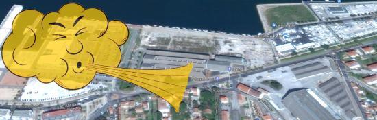 Vent violent: Route fermée ... La Seyne sur Mer