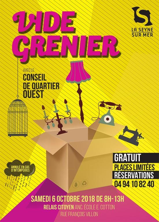 Vide-Grenier du Relais Citoyen, le 06 Octobre 2018 ... Inscriptions