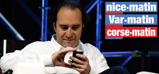 Xavier Niel, futur Actionnaire de Var-Matin, Nice-Matin, Corse-Matin