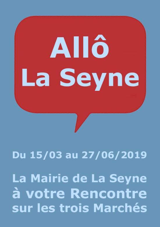 La Mairie de La Seyne à votre Rencontre sur les trois Marchés de la Ville