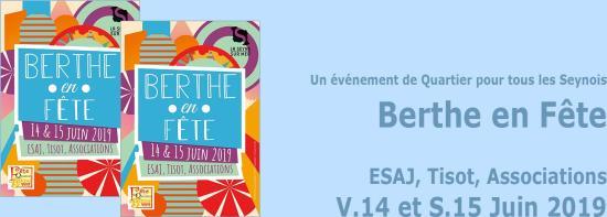 Berthe en Fête, les 14 et 15 Juin 2019