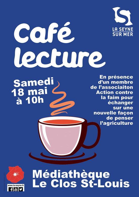Le Café Lecture du 18 Mai 2019