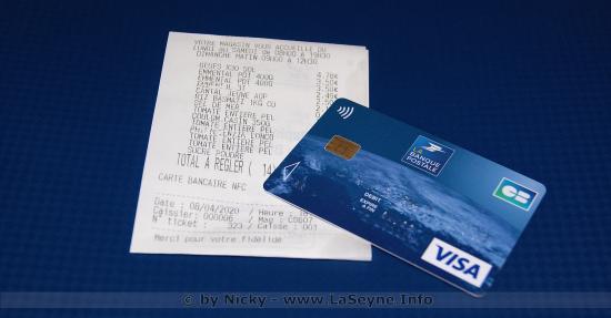 #Coronavirus #Covid19 et Paiement sans Contact par Carte bancaire: Le Plafond relevé à 50 Euros