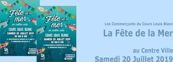 La Fête de la Mer au Centre Ville, le 20/07/2019