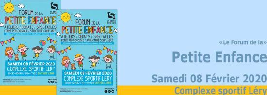 Le Forum de la Petite Enfance 2020, le 08 Février à Léry