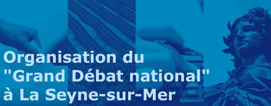 Grand Débat national 2019 à La Seyne-sur-Mer