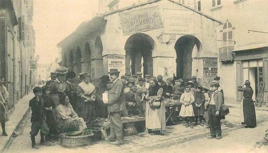 La Halle aux Poissons du Marché à La Seyne sur Mer